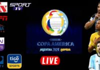 COPA America Live Streaming 2021 TV Channels List