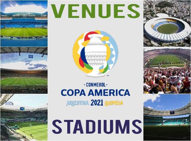 Copa-America Venues, Stadiums & Sitting Capacity