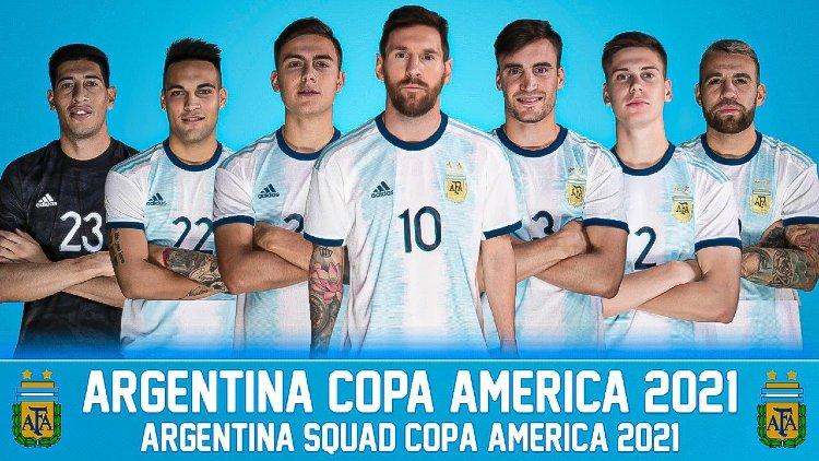 Argentina squad for Copa America 2021