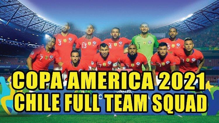Chile squad for Copa America 2021