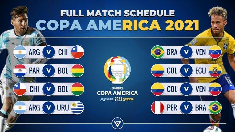 Opening Match of the Copa America 2021 - Full Schedule, Fixture