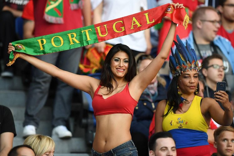 Portugal Sexy football fans