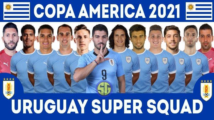 Uruguay squad for Copa America 2021