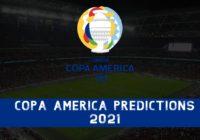 Copa America Predictions 2020-2021