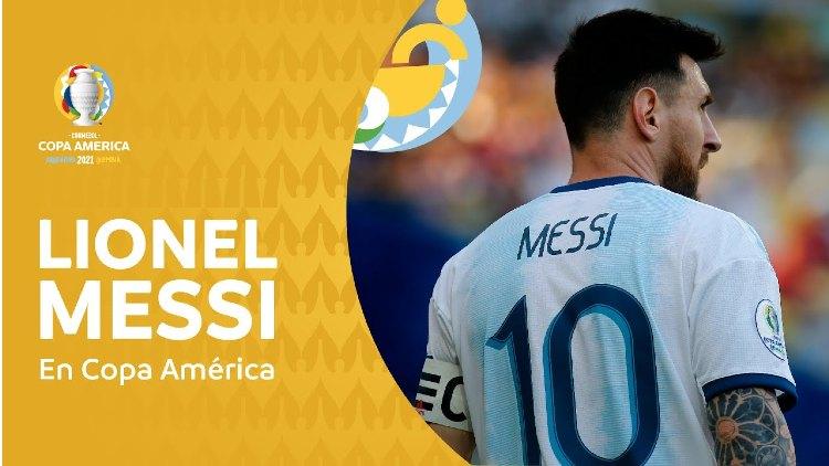 Lionel Messi in Copa America 2021 Live Stream Match