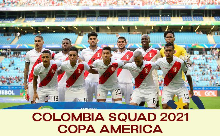 Peru Squad Copa America 2021